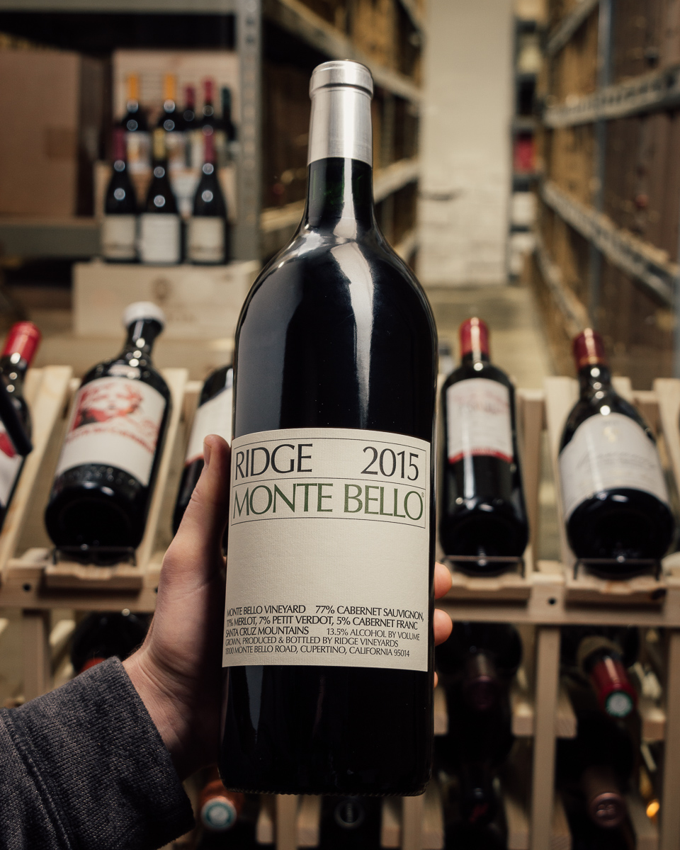 Ridge Cabernet Sauvignon Monte Bello 2015 (Magnum 1.5L)  - First Bottle