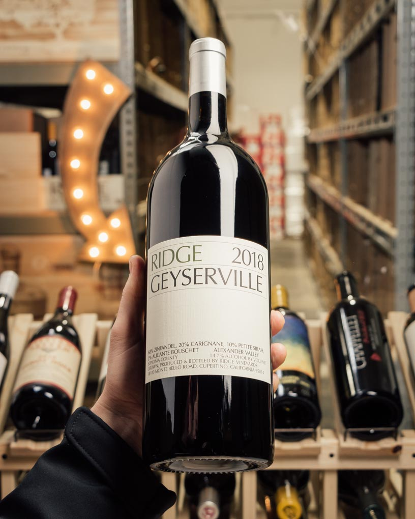 Ridge Geyserville Alexander Valley 2018 (Magnum 1.5L)  - First Bottle