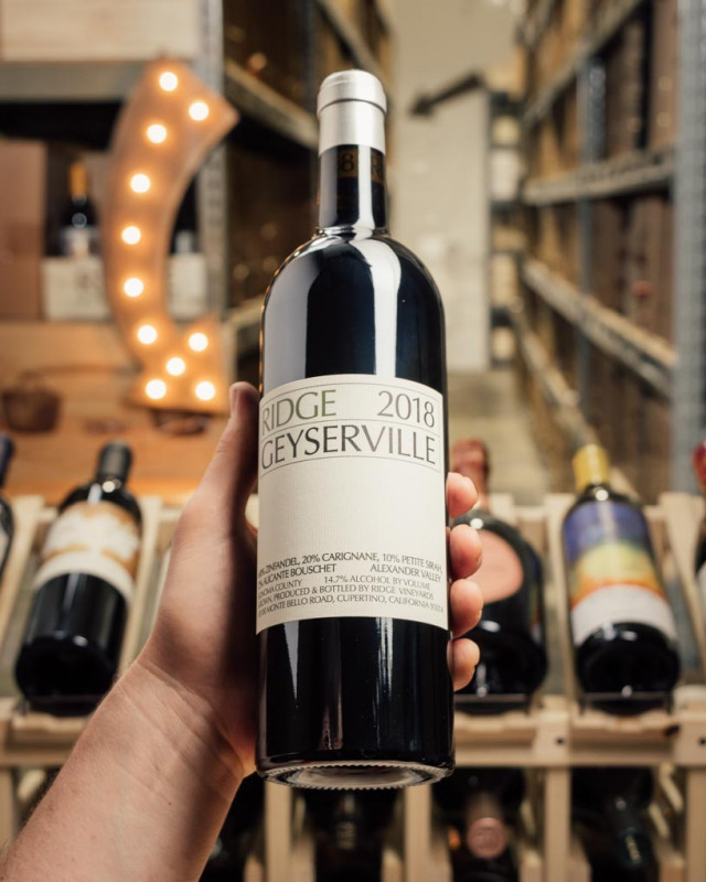 Ridge Geyserville Alexander Valley 2018  - First Bottle