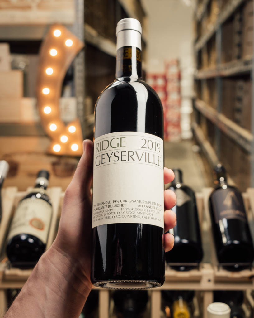 Ridge Geyserville Alexander Valley 2019  - First Bottle