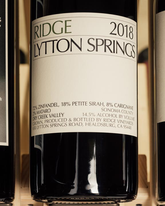 Ridge Lytton Springs Zinfandel Blend 2018 (Magnum 1.5L)