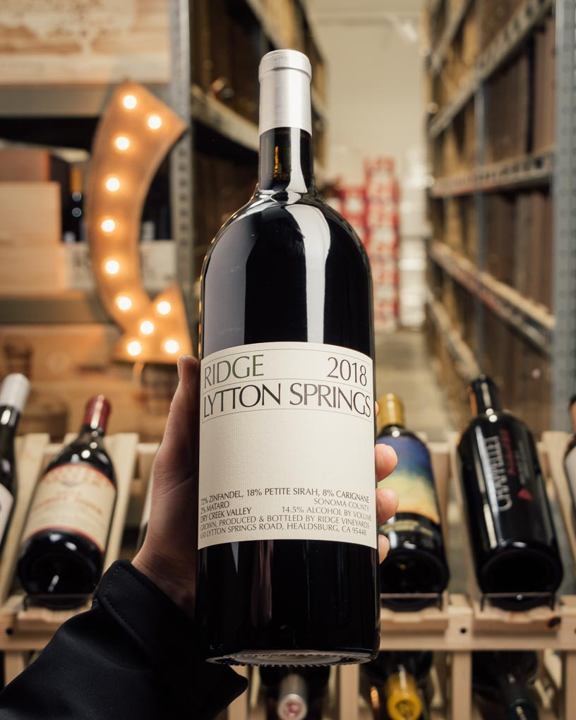 Ridge Lytton Springs Zinfandel Blend 2018 (Magnum 1.5L)  - First Bottle