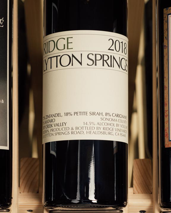 Ridge Lytton Springs Zinfandel Blend 2018