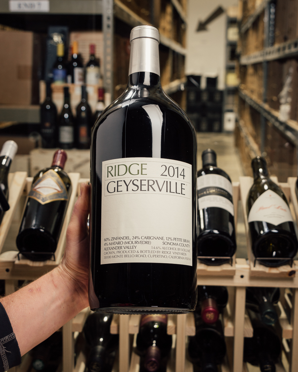 Ridge Proprietary Red Geyserville 2014 (Double Magnum 3L)  - First Bottle