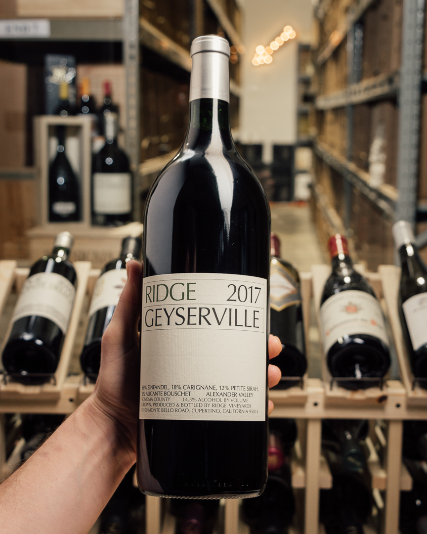 Ridge Proprietary Red Geyserville 2017 (Magnum 1.5L)  - First Bottle