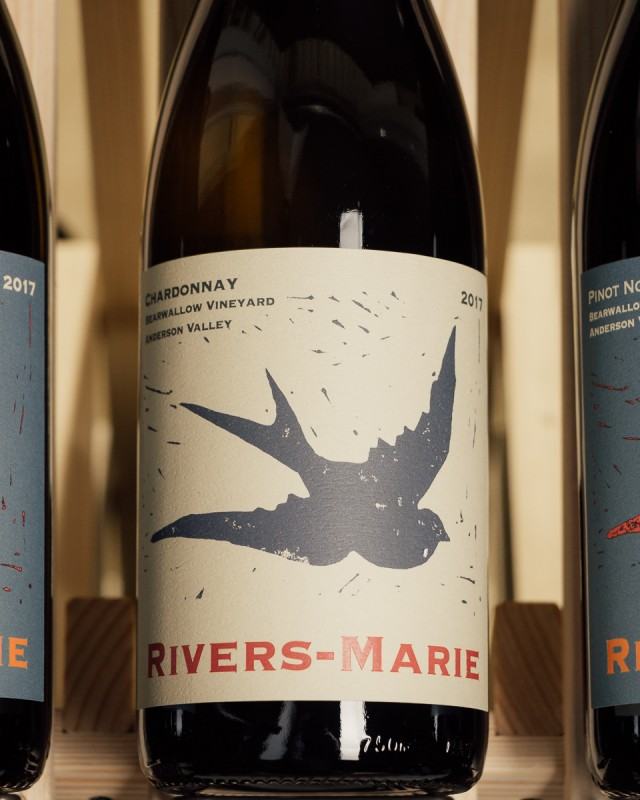 Rivers-Marie Chardonnay Bearwallow Vineyard Anderson Valley 2017