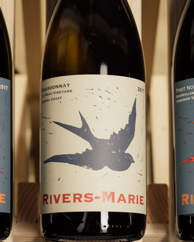 Rivers-Marie Chardonnay Joy Road Vineyard Sonoma Coast 2017