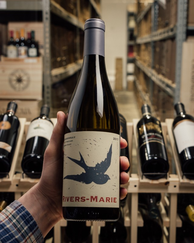 Rivers-Marie Chardonnay Platt Vineyard Sonoma Coast 2017  - First Bottle
