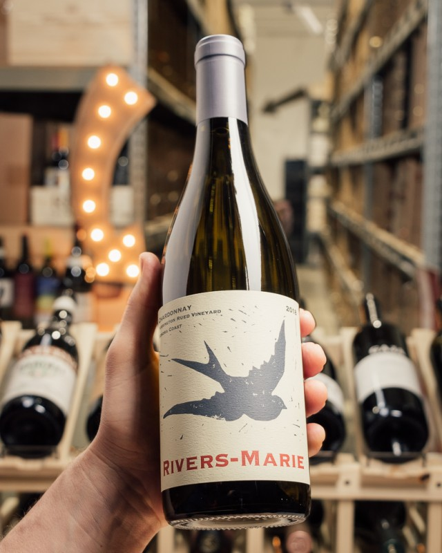 Rivers-Marie Chardonnay Purrington Rued Sonoma Coast 2018  - First Bottle