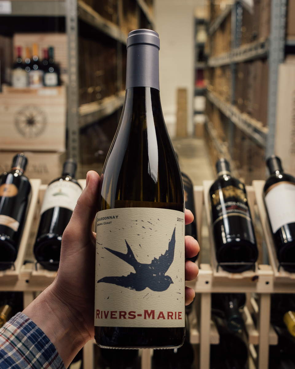 Rivers-Marie Chardonnay Sonoma Coast 2017  - First Bottle