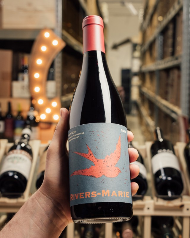 Rivers-Marie Pinot Noir Bearwallow Anderson Valley 2018  - First Bottle