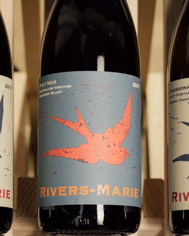 Rivers-Marie Pinot Noir Bearwallow Vineyard Anderson Valley 2017