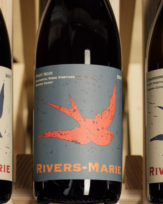 Rivers-Marie Pinot Noir Occidental Ridge Vineyard Sonoma Coast 2017