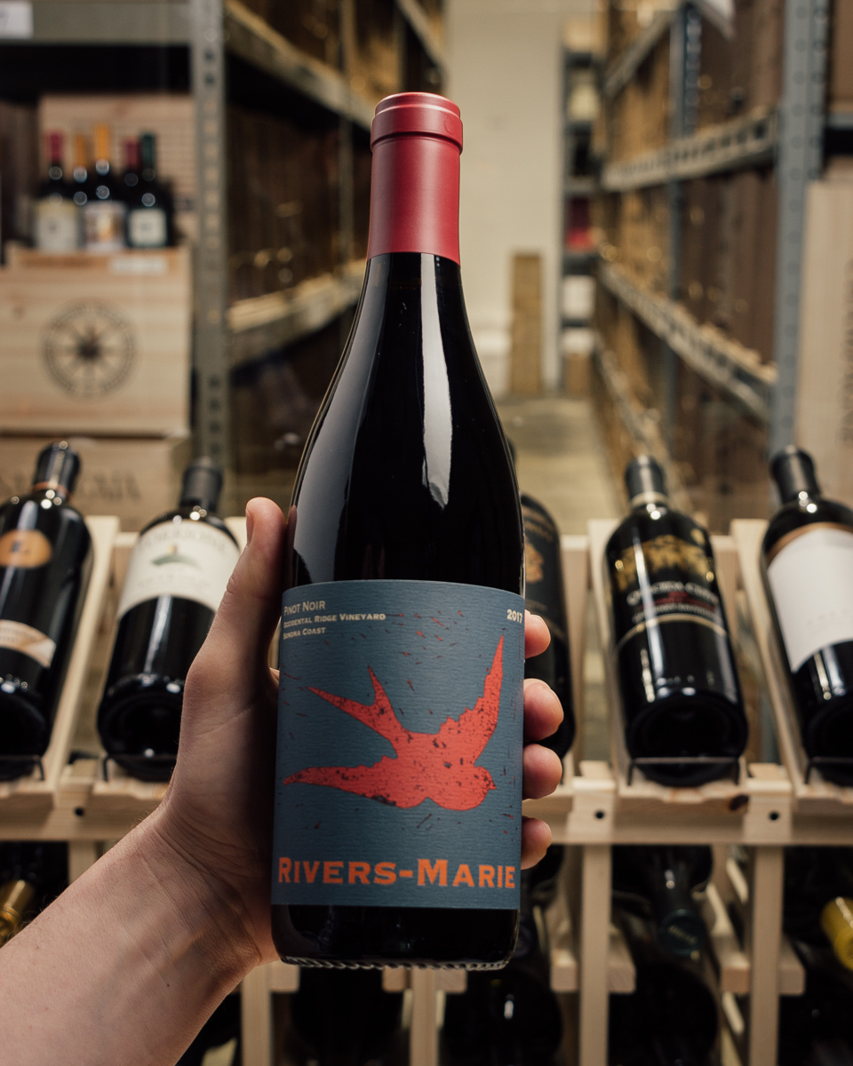 Rivers-Marie Pinot Noir Occidental Ridge Vineyard Sonoma Coast 2017  - First Bottle