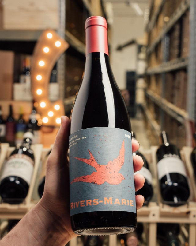 Rivers-Marie Pinot Noir Silver Eagle Sonoma Coast 2018  - First Bottle