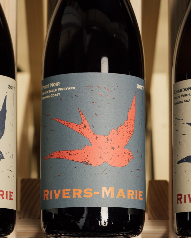 Rivers-Marie Pinot Noir Silver Eagle Vineyard Sonoma Coast 2017