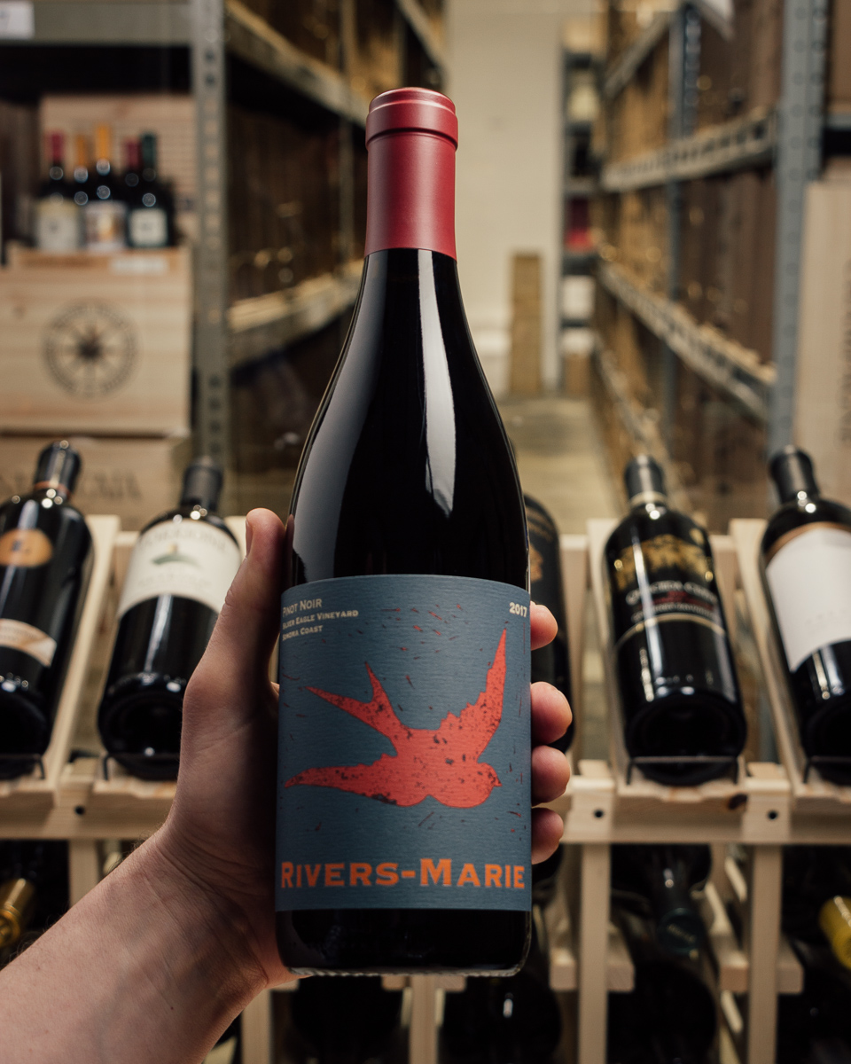 Rivers-Marie Pinot Noir Silver Eagle Vineyard Sonoma Coast 2017  - First Bottle
