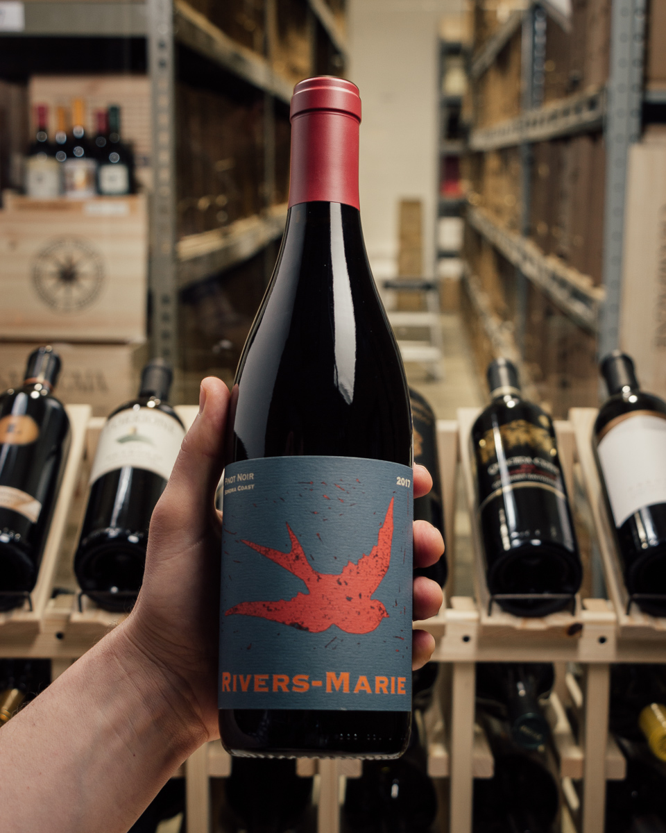 Rivers-Marie Pinot Noir Sonoma Coast 2017  - First Bottle
