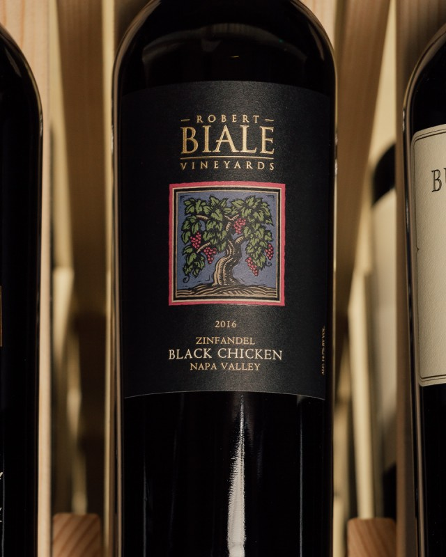 Robert Biale Zinfandel Black Chicken Vineyard 2016