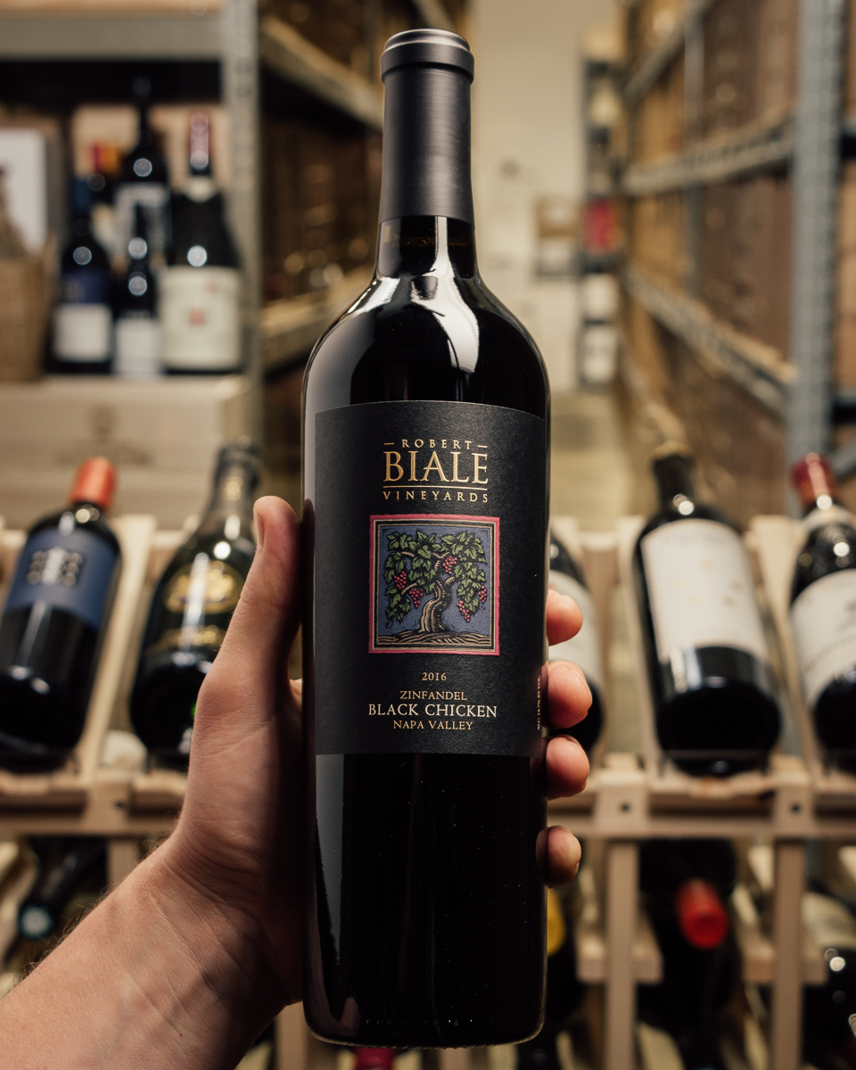 Robert Biale Zinfandel Black Chicken Vineyard 2016  - First Bottle