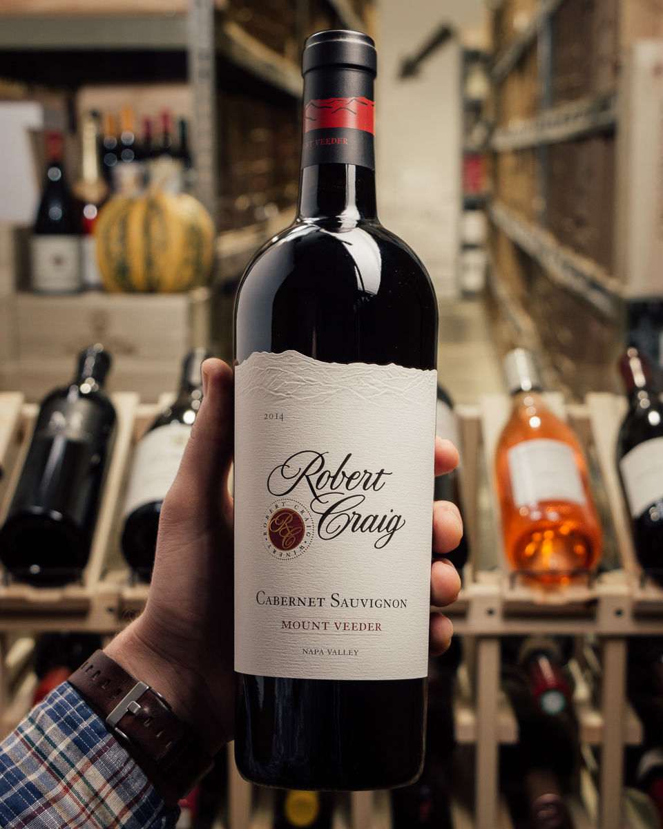 Robert Craig Cabernet Sauvignon Mount Veeder 2014  - First Bottle