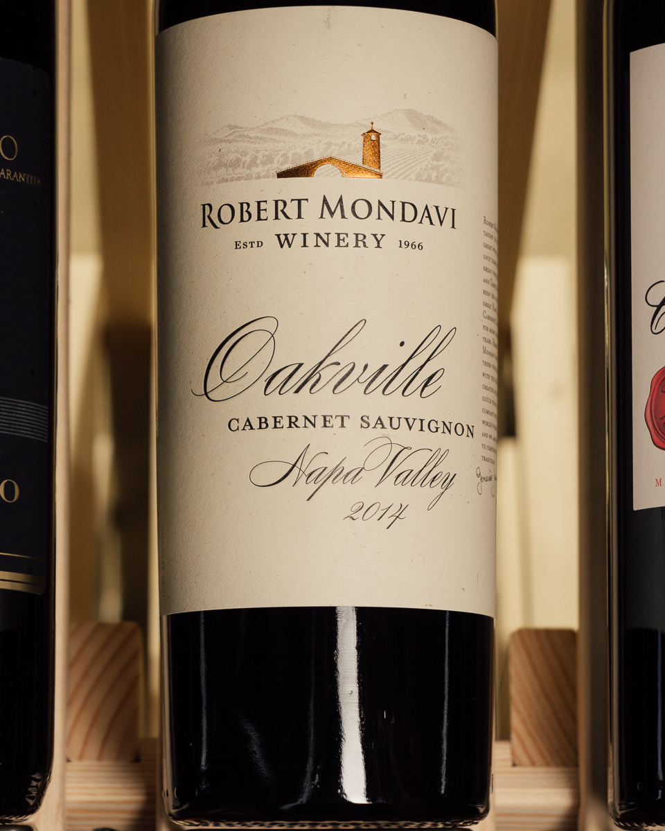 Robert Mondavi Cabernet Sauvignon Oakville 2014  - First Bottle