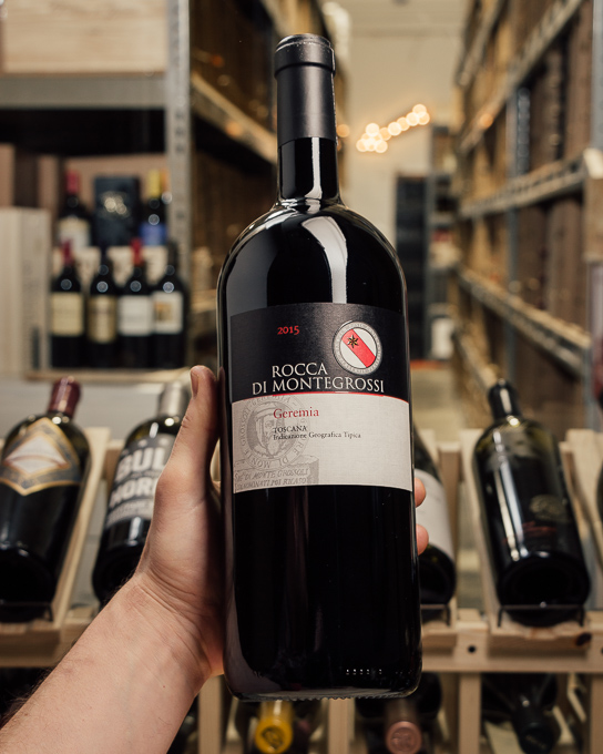Rocca di Montegrossi Geremia Tuscany 2015 OWC (Magnum 1.5L)  - First Bottle