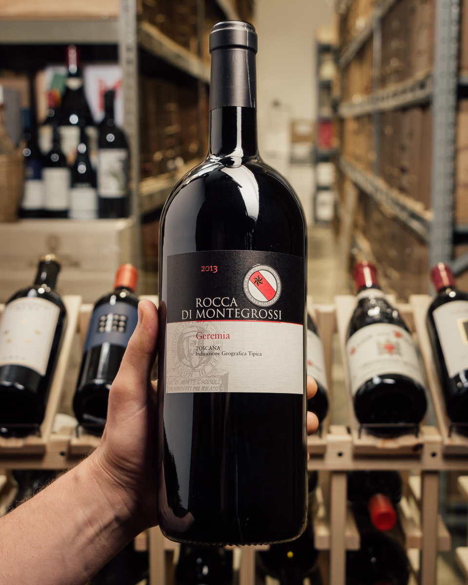 Rocca di Montegrossi Toscana IGT Geremia 2013 (1.5L Magnum)  - First Bottle