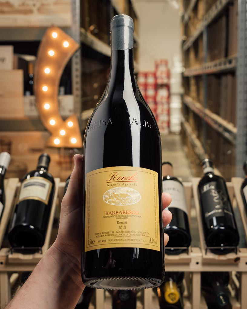 Ronchi Barbaresco Ronchi 2015 (Magnum 1.5L)  - First Bottle