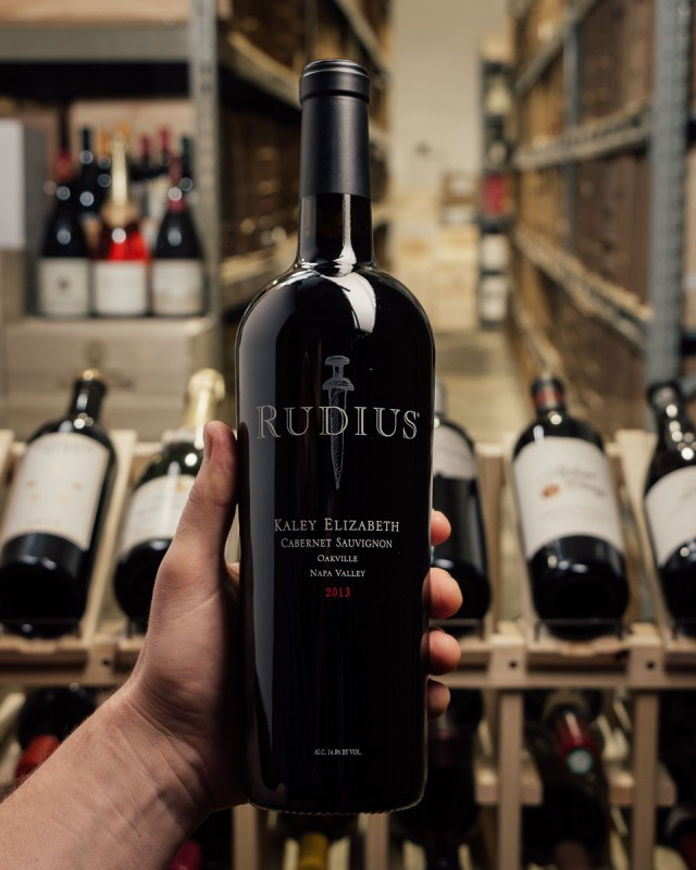 Rudius Cabernet Sauvignon Kaley Elizabeth Oakville 2013  - First Bottle