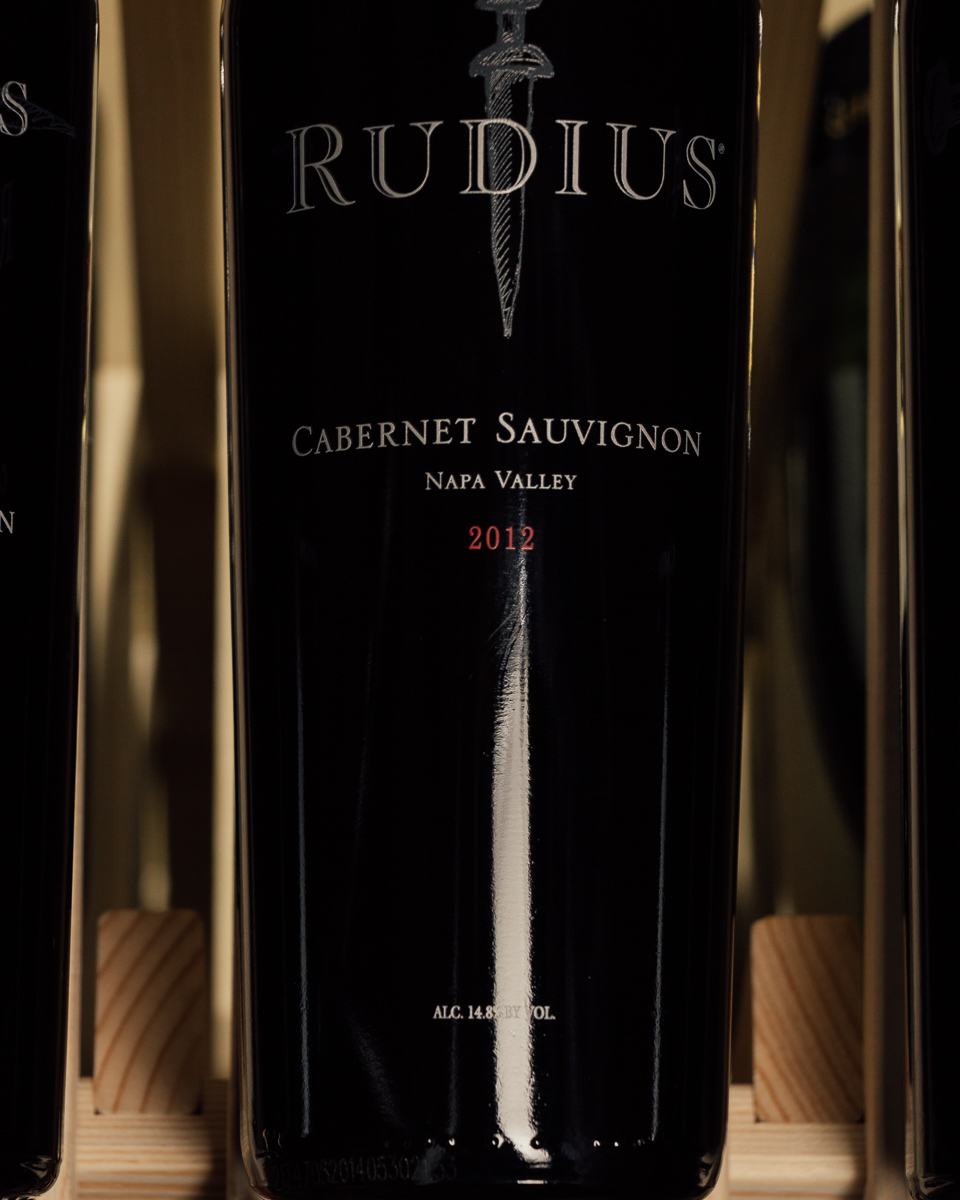 Rudius Cabernet Sauvignon Napa Valley 2012  - First Bottle