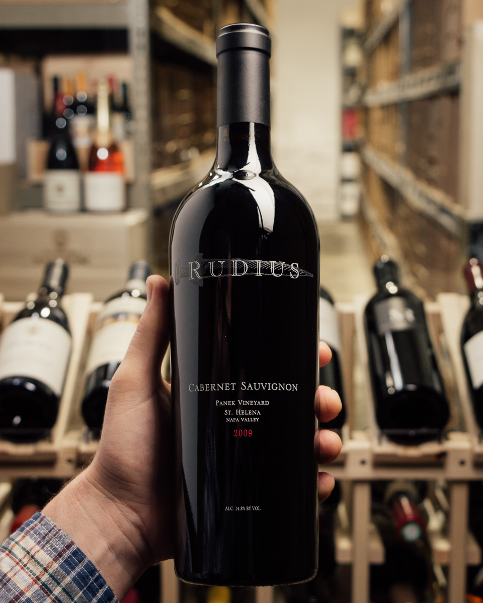 Rudius Cabernet Sauvignon Panek Vineyard 2009  - First Bottle