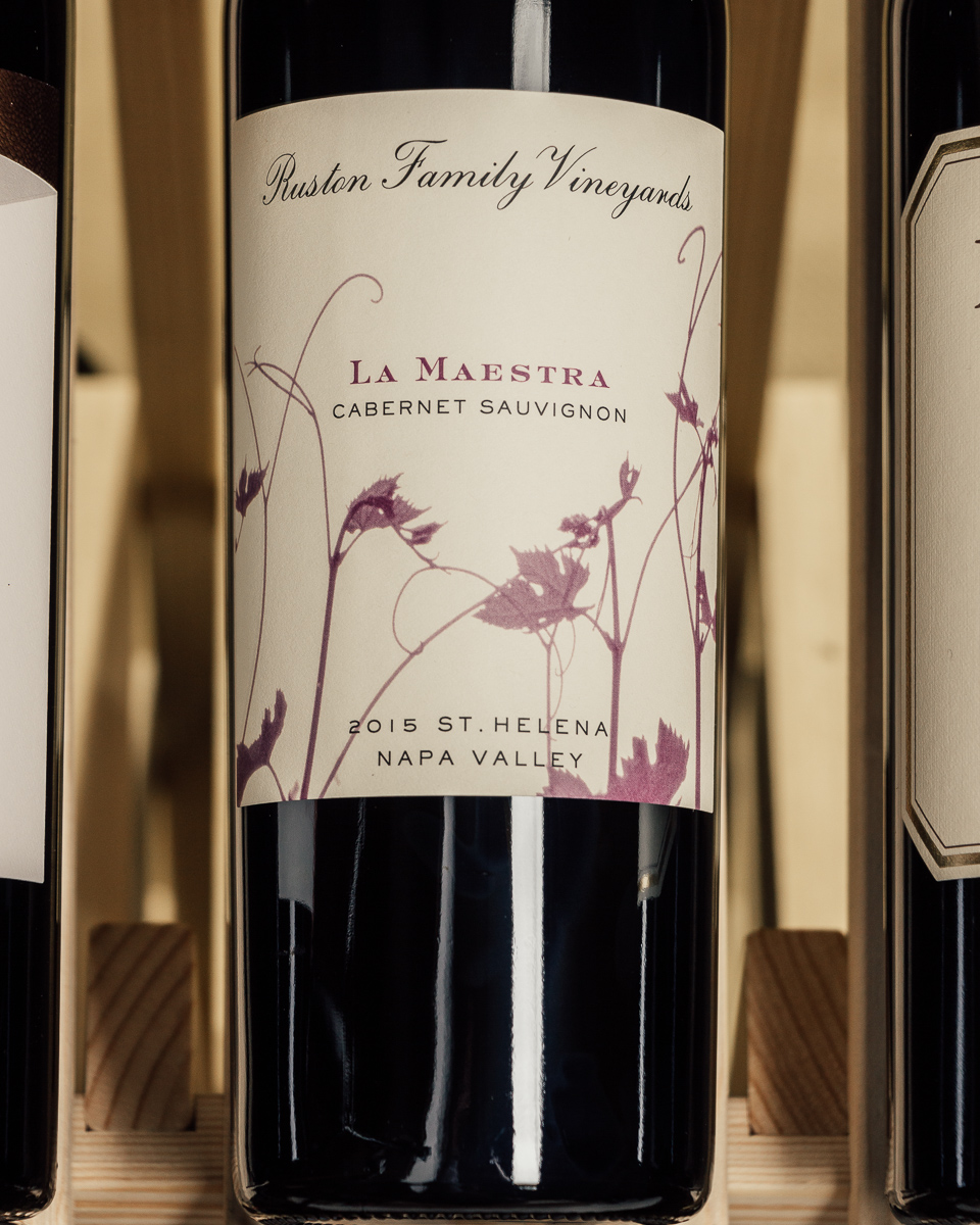 Ruston Family Vineyards La Maestra Cabernet Sauvignon St. Helena Napa Valley 2015  - First Bottle