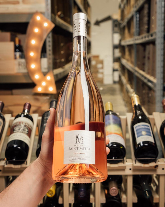 Saint Mitre Rose Clos Madon Provence 2019 (Magnum 1.5L)  - First Bottle