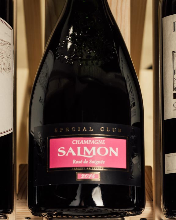 Salmon Rose de Saignee Special Club 2014  - First Bottle