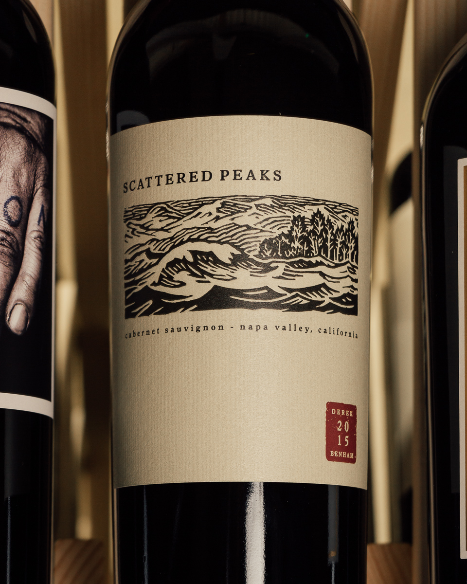 Scattered Peaks Cabernet Sauvignon Napa Valley 2015  - First Bottle