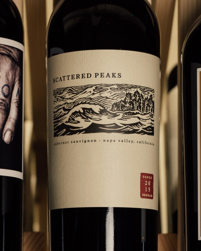 Scattered Peaks Cabernet Sauvignon Napa Valley 2015