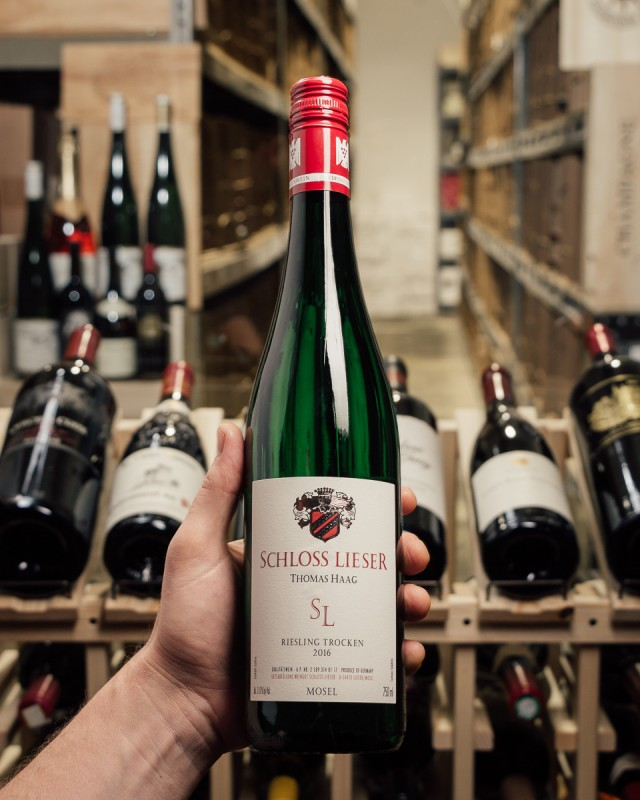 Schloss Lieser Riesling (Dry) Estate Trocken 2016  - First Bottle