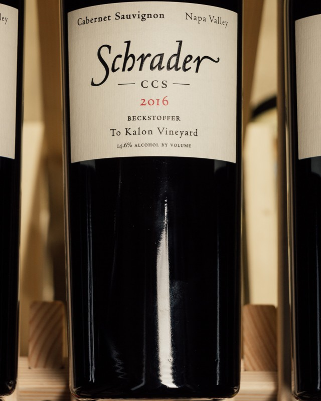 Schrader Cabernet Sauvignon CCS 2016  - First Bottle
