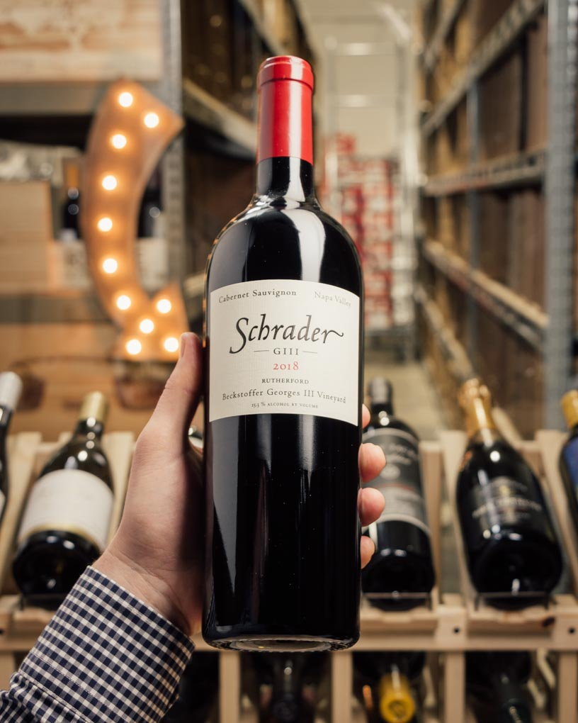 Schrader Cabernet Sauvignon GIII 2018  - First Bottle