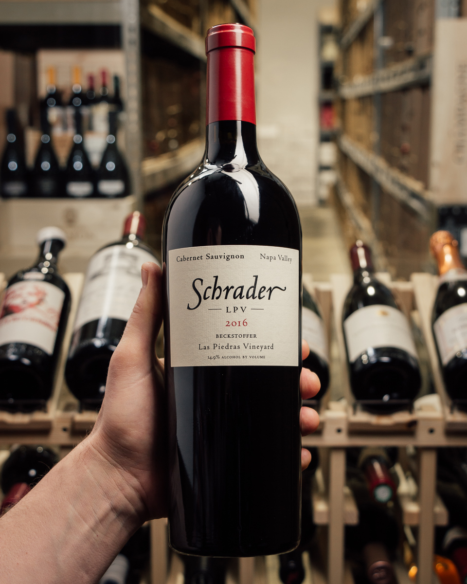 Schrader Cabernet Sauvignon LPV Las Piedras Vineyard 2016  - First Bottle