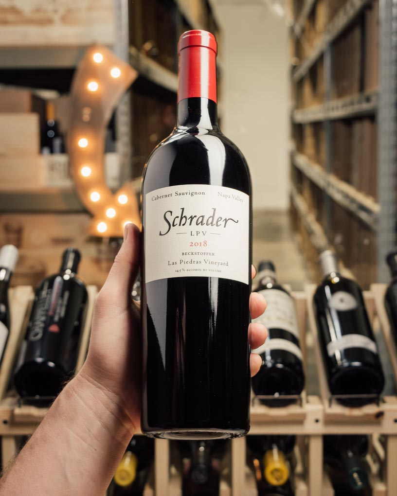 Schrader Cabernet Sauvignon LPV Las Piedras Vineyard 2018  - First Bottle