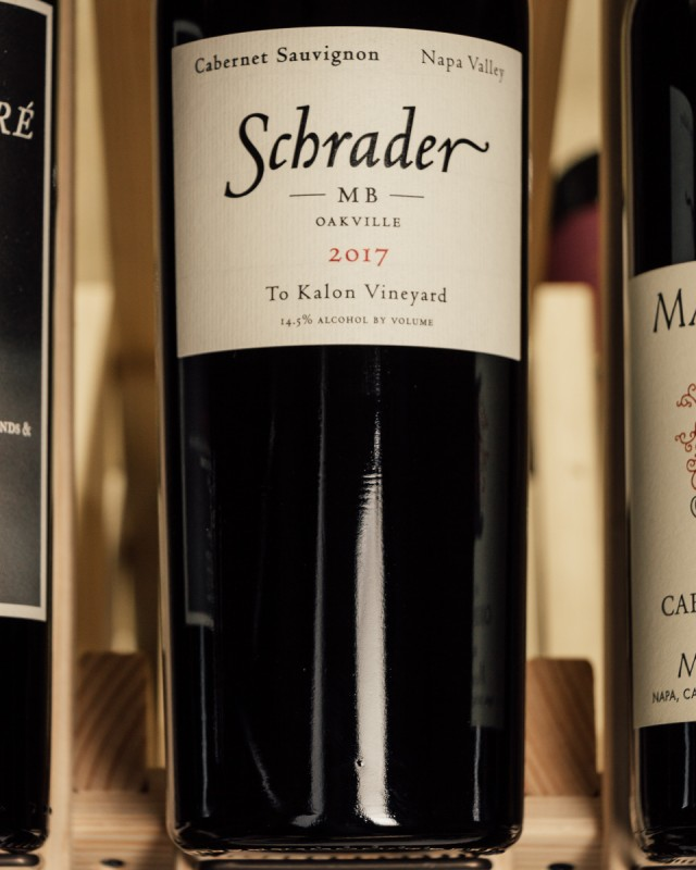 Schrader Cabernet Sauvignon MB To Kalon Vineyard Oakville 2017