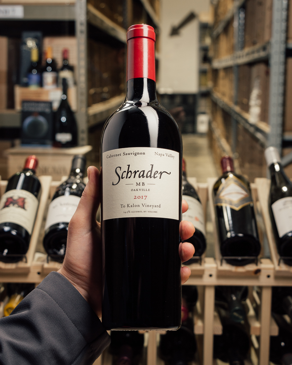 Schrader Cabernet Sauvignon MB To Kalon Vineyard Oakville 2017  - First Bottle