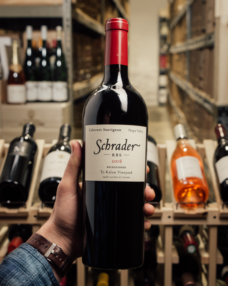 Schrader Cabernet Sauvignon RBS 2016  - First Bottle