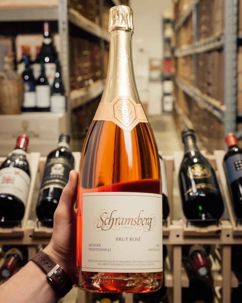 Schramsberg Brut Rose (1.5L Magnum) 2012  - First Bottle