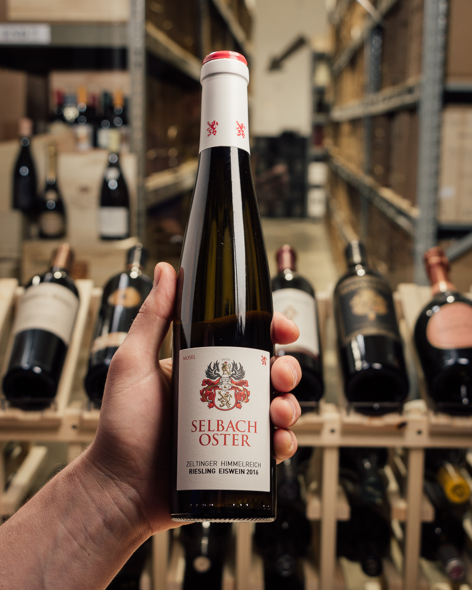 Selbach-Oster Zeltinger Himmelrich Riesling Eiswein 2016  - First Bottle