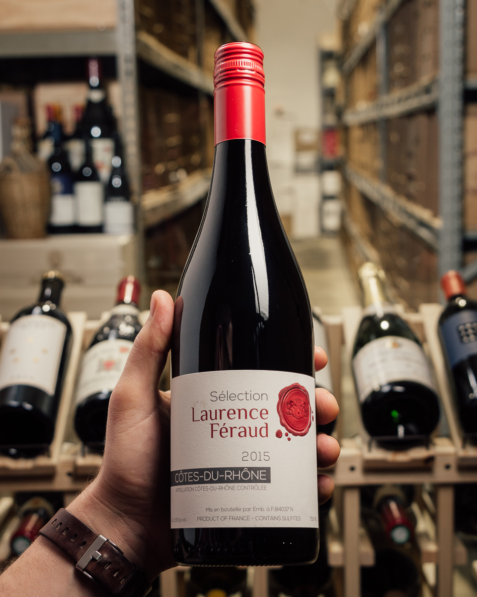 Selection Laurence Feraud Cotes du Rhone 2015  - First Bottle