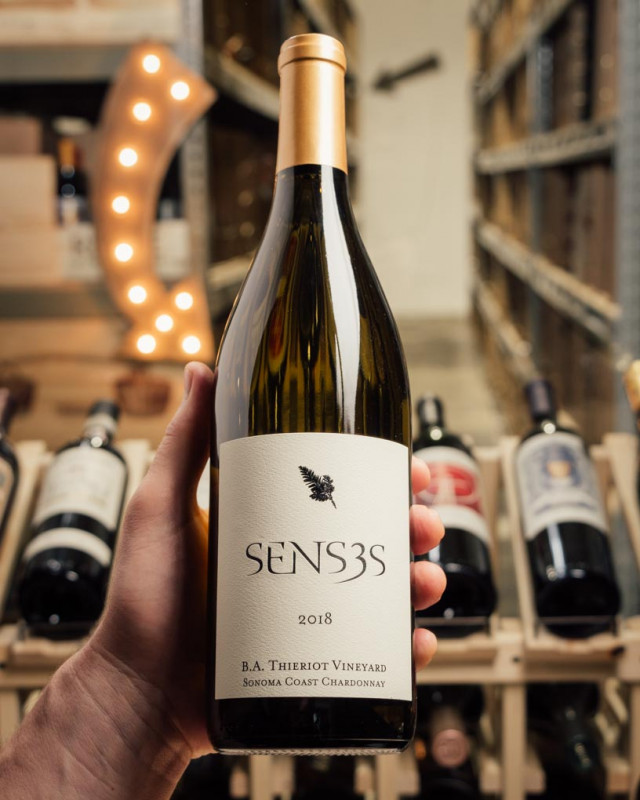 Senses Chardonnay B.A. Thieriot 2018  - First Bottle