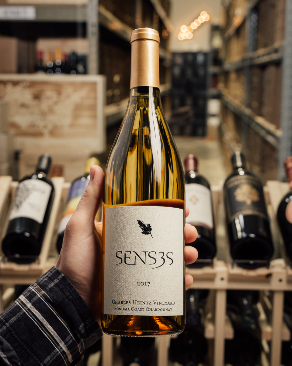 Senses Chardonnay Charles Heintz Sonoma Coast 2017  - First Bottle